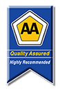 AA Highly Recommended Quality Assured;